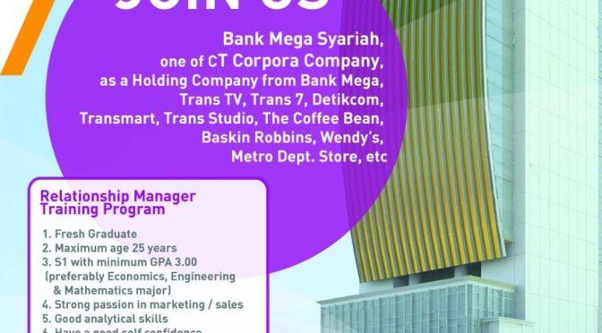 Lowongan Bank Mega Syariah
