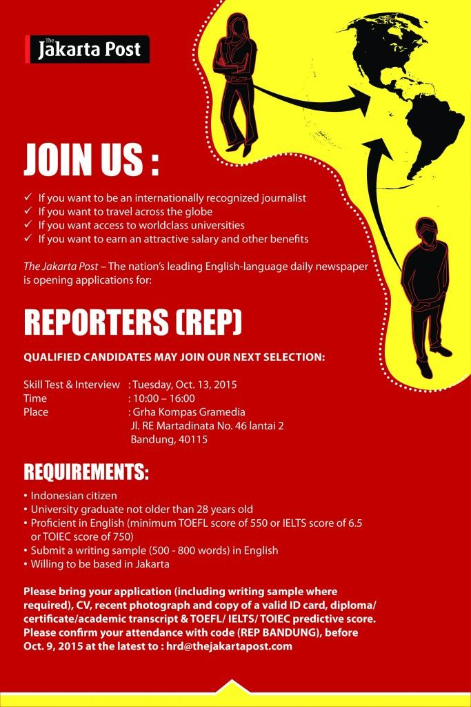 Lowongan Jakarta Post Career Center Umj