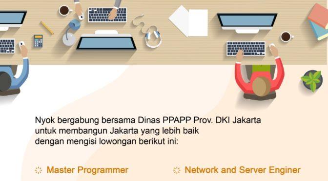 Lowongan DPPAPP DKI Jakarta