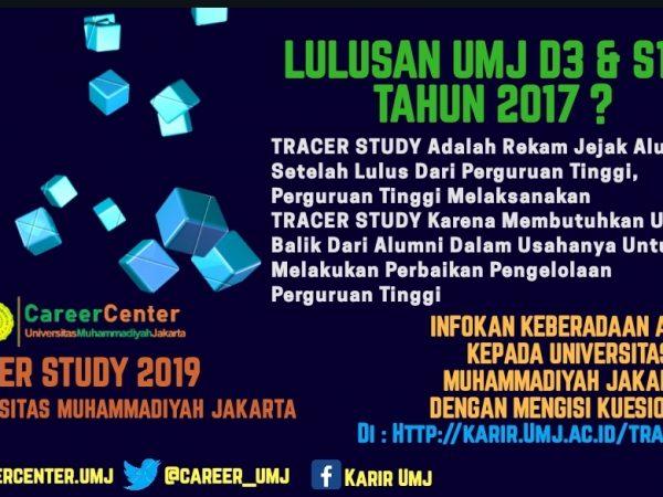 TRACER STUDY 2019 : LULUSAN 2017