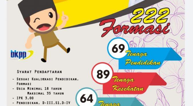 Lowongan Penerimaan CPNS 2019 Kota Tangerang Selatan