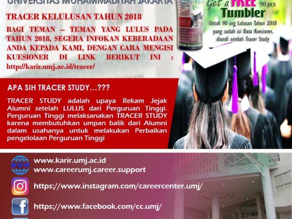 TRACER STUDY 2020 : LULUSAN 2018